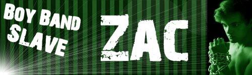 Boy Band Slave: 4 Zac Header