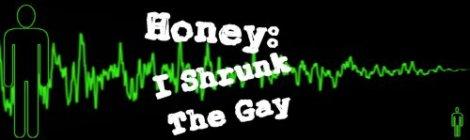Honey: I Shrunk The Gay
