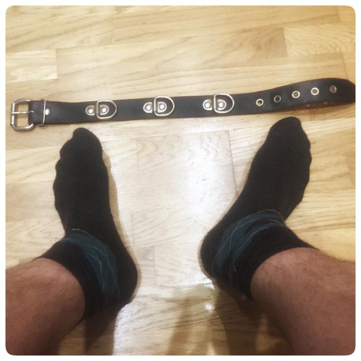 Collar and socks